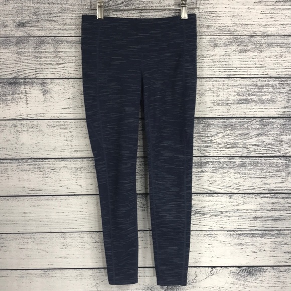 Athleta Pants - Athleta Blue Galaxy XS Leggings Yogas